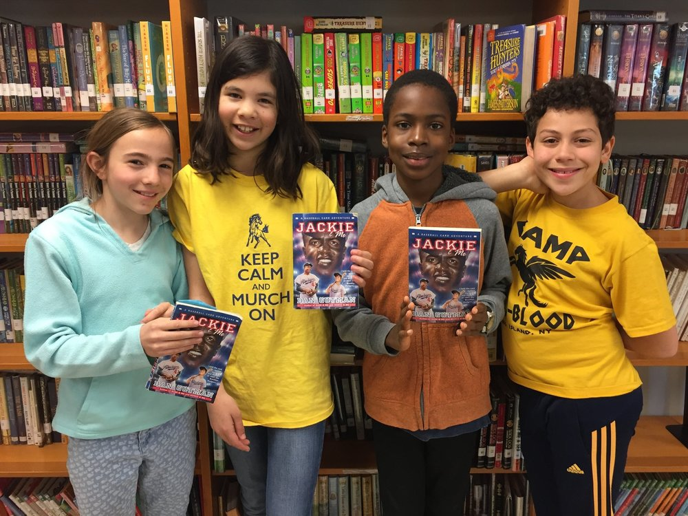 Lily, Sofia, Daluchi, and Max from  Murch Elementary School  in Washington, DC