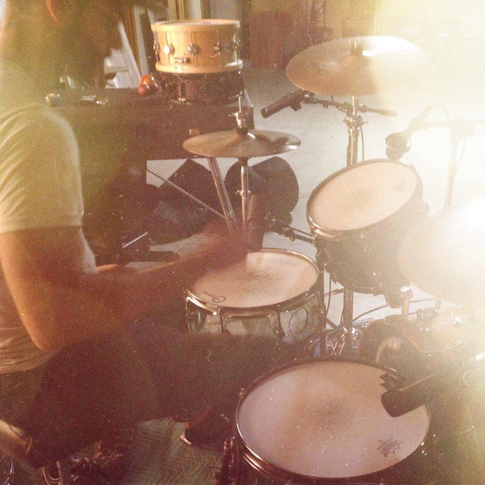 Asher Coker - Pearl Masters Kick Drum