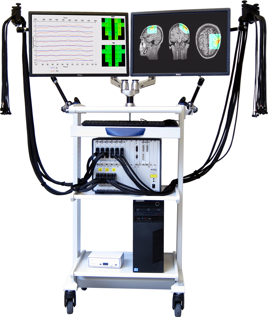 NIRScout Extended NIRS System and Cart by NIRx