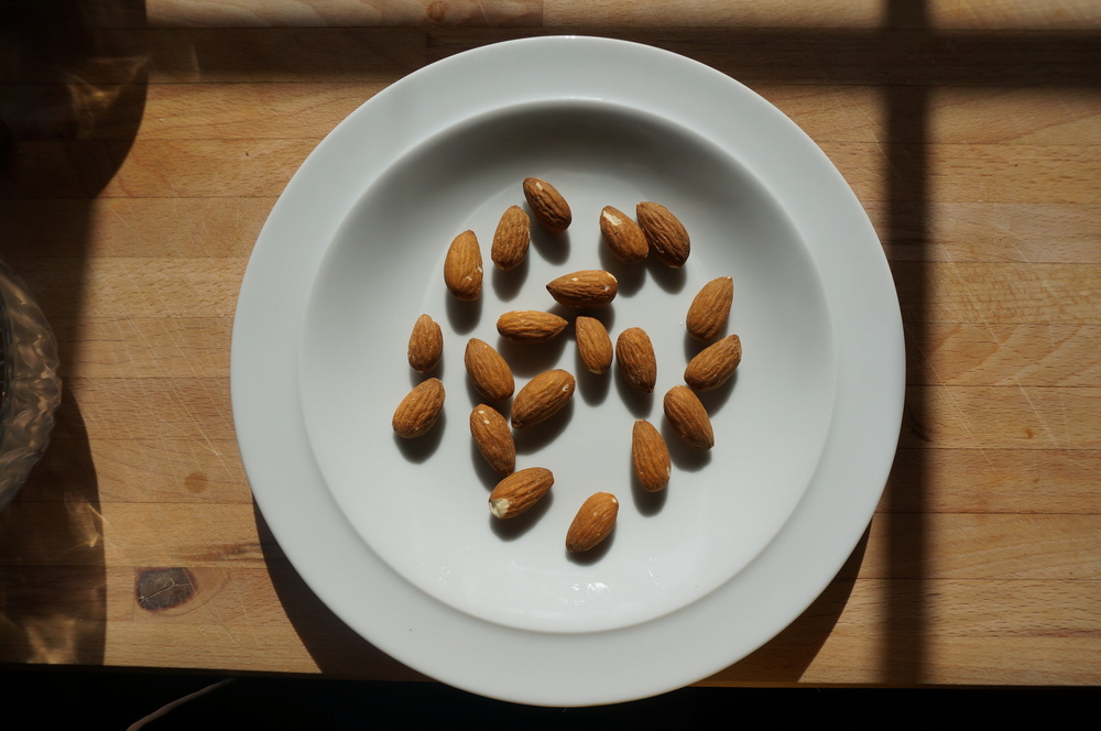 20 Almonds