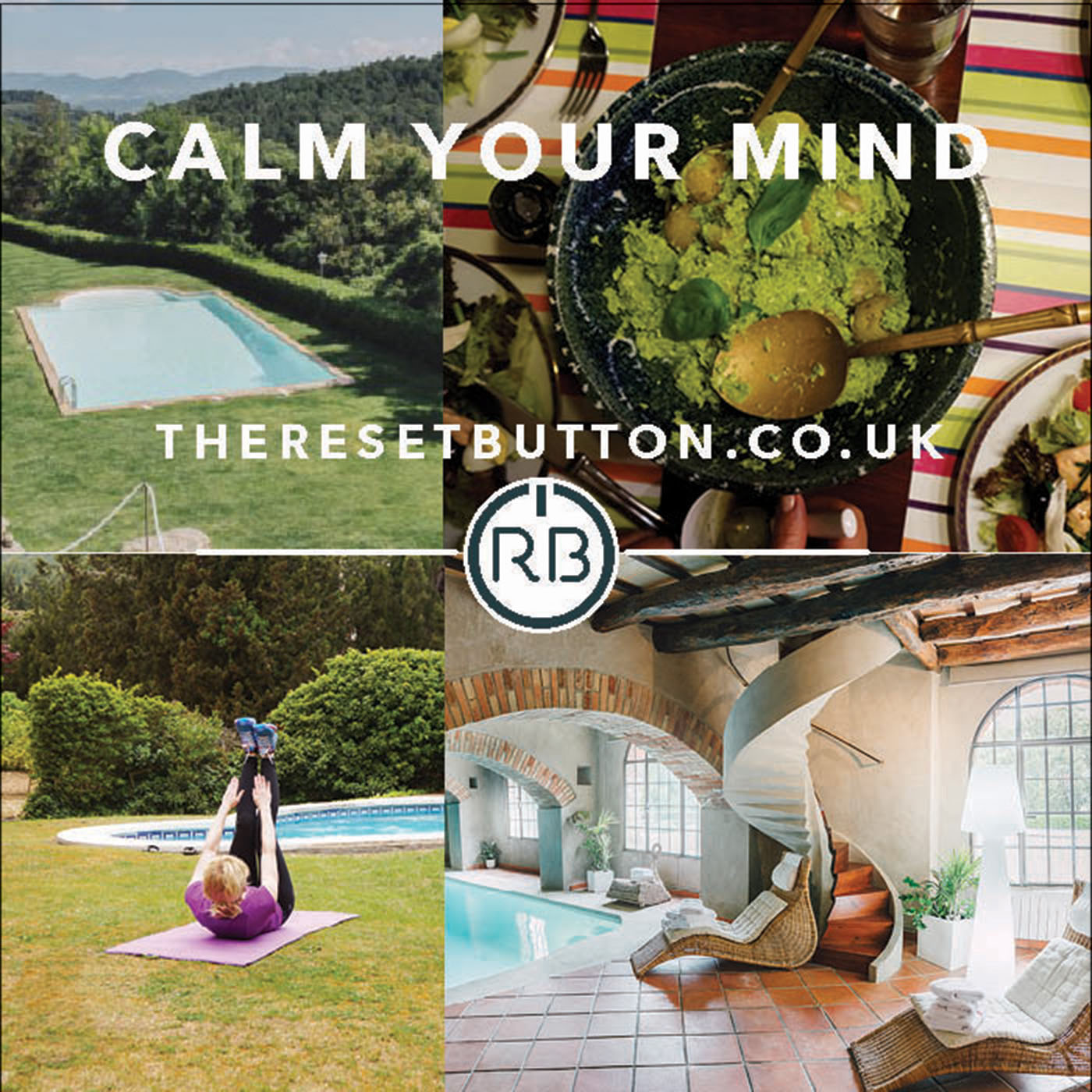 Calm Your Mind Mini Course - Mindfulness and health retreat
