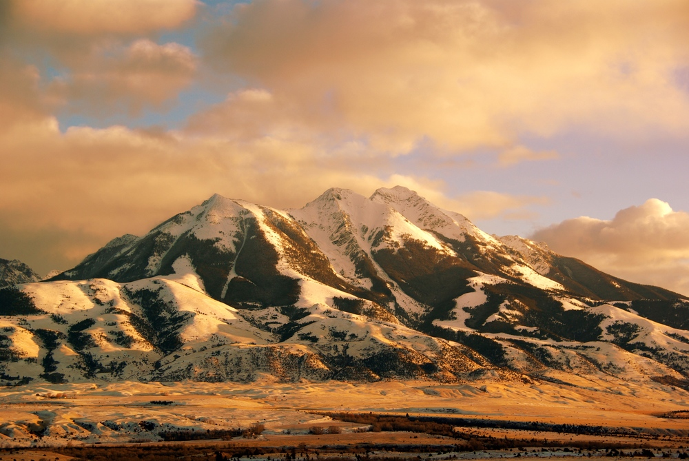 The stunning mountains of Paradise Valley, Montana, where Eduardo grew up.