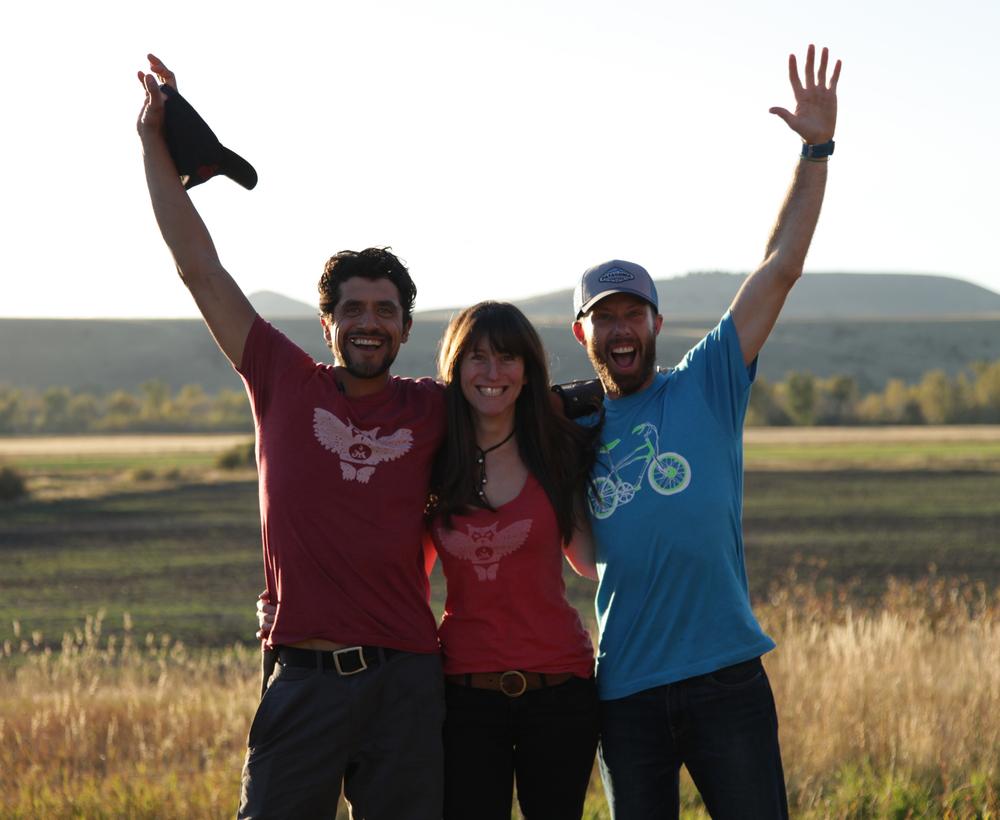 Eduardo, Jen, Phill