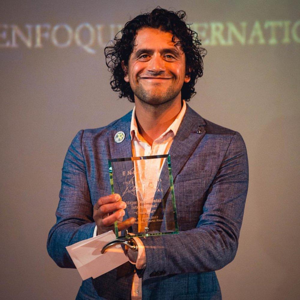 Eduardo Garcia_Charged_Charged Film_Best International Documentary Award