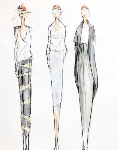 Coming Soon Beginner Fashion Sketching Design With Kurt Souder Made Institute Fashion Design Sewing Classes Philadelphia Pa