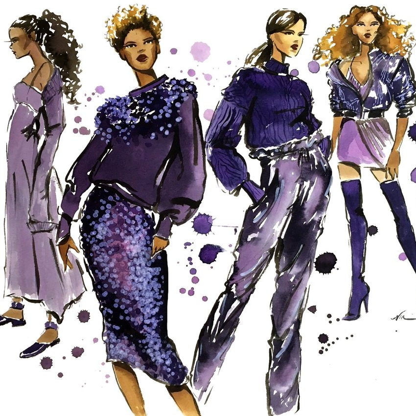 Fashion Illustration 2: Fabric Rendering/ Color