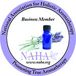 NATIONAL ASSOCIATION OF HOLISTIC AROMATHERAPY APPROVED SCHOOL AND BUSINESS MEMBER