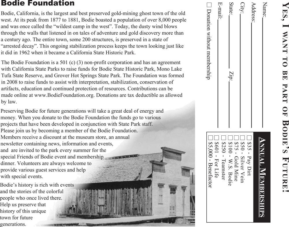 Bodie Brochure Before In