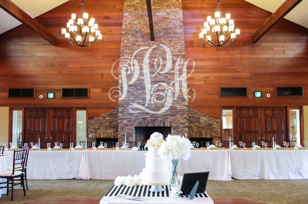 VENUE UP LIGHTING / CUSTOM MONOGRAM
