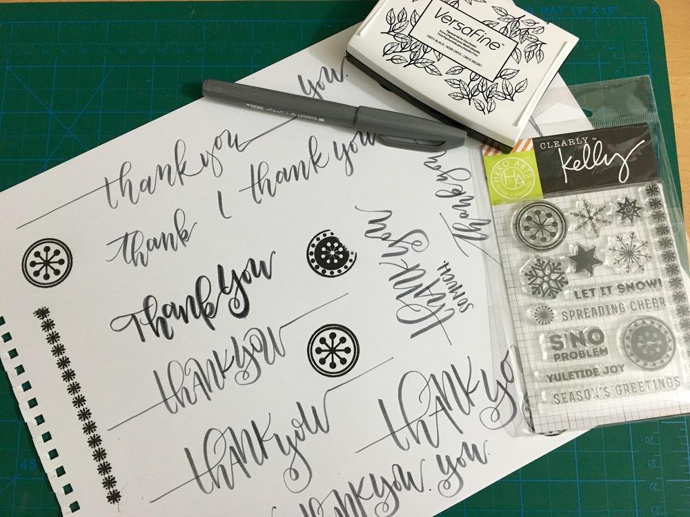 How To Foil Your Lettering Designs Poppy Mint Design