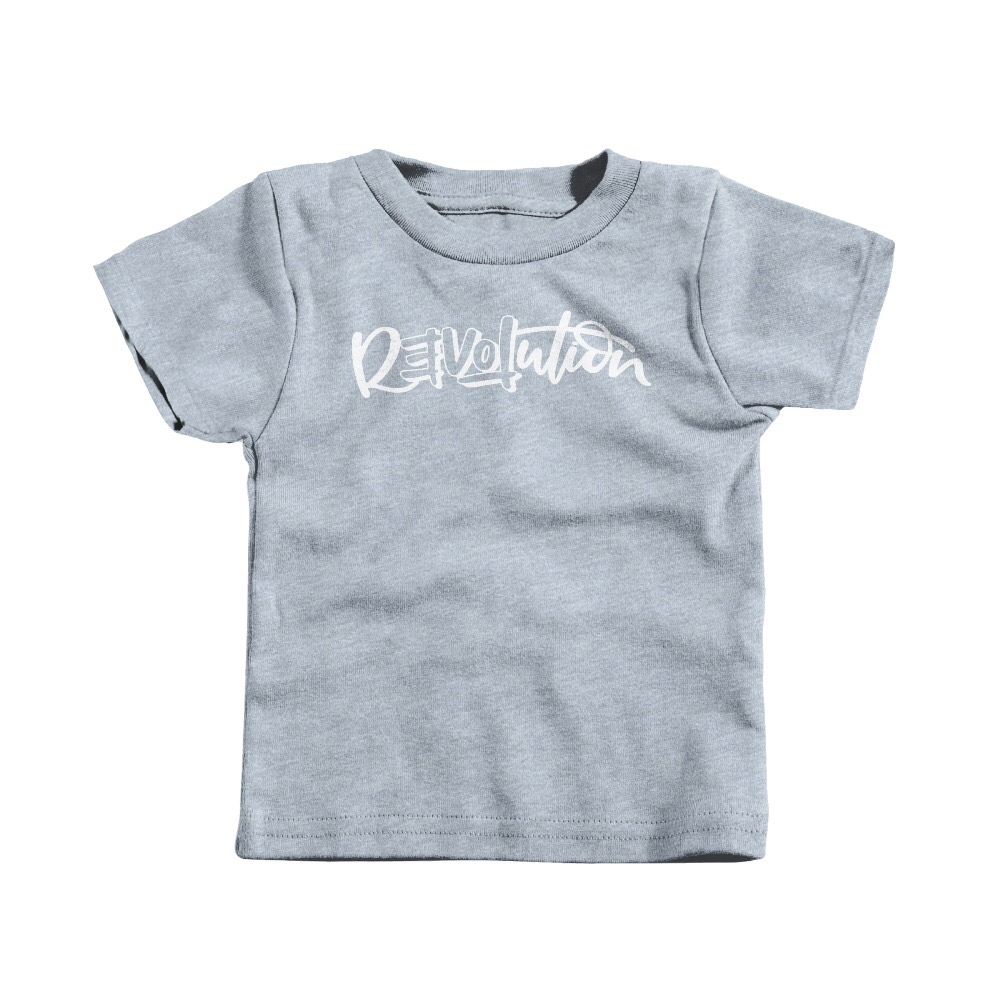 Heather Grey 100% Cotton (Youth/Toddler)