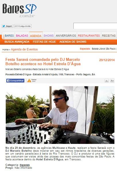 BARES SP - FESTA SARAVÁ COMANDADA PELO DJ MARCELO BOTELHO ACONTECE NO HOTEL ESTRELA D'ÁGUA - 06.01.jpg