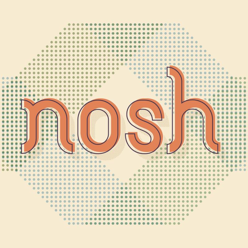 menus, posters, promotional materials - Nosh Truth