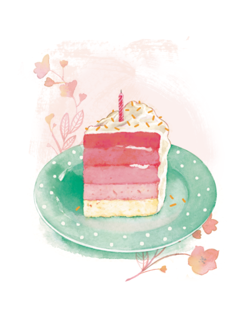 American Greetings Birthday Cake Card Ali Kurzeja