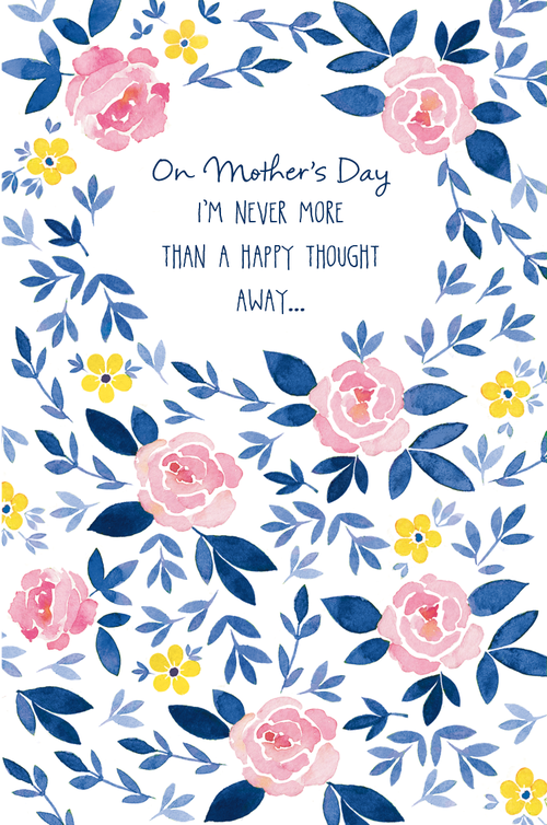 Roses mothers day card for american greetings ali kurzeja whimsical watercolor rose border mothers day card for ps hello via american greetings copyright m4hsunfo