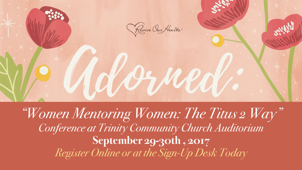 Past Event: Women's Conference: September 29-30, 2017