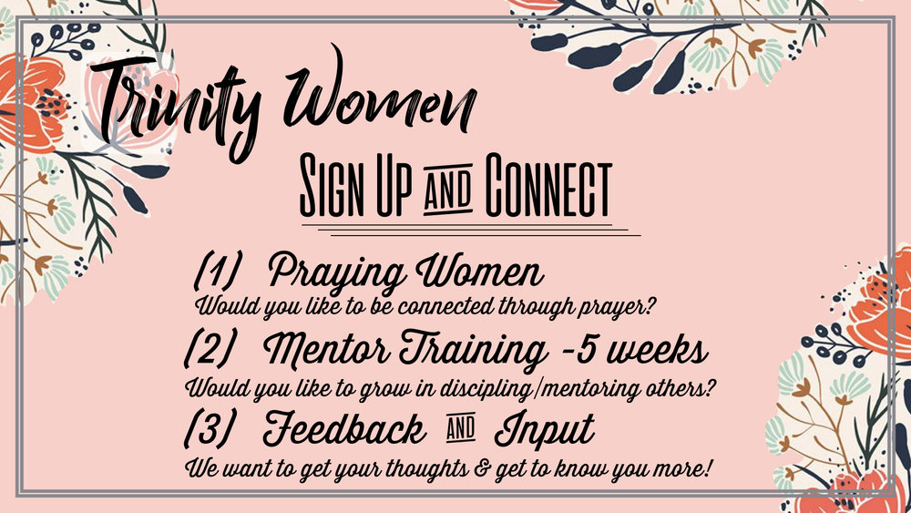 TCC Wide Announcements - Trinity Women Sign Up & Connect.001.jpeg