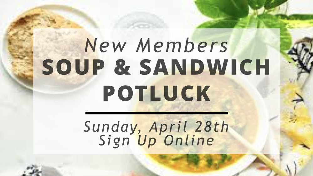 SIGN UP FOR POTLUCK HERE