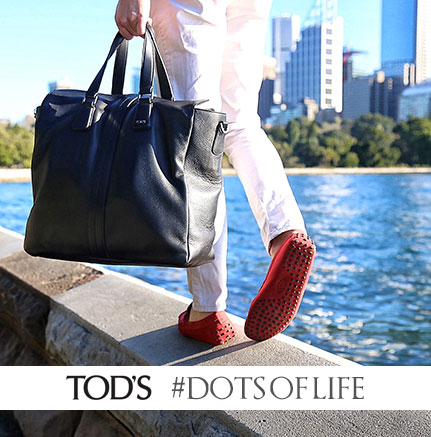 TODS #dotsoflife official collaboration