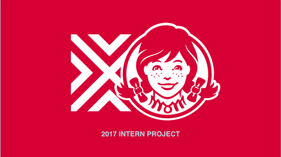 So, for our my intern project at VML, we were asked to get millennial women to try Wendy's salad. Research shows that 91% of people who try their salads are likely to come back for more. That's why we decided to approach our creative in the way that we did; with a salad giveaway.