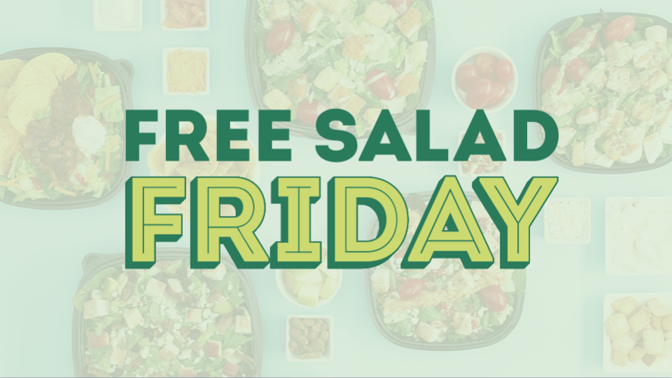Our solution was to institute a free salad day, where anyone could come in and try the salad. But it makes you wonder, what led Wendy's to make that decision?