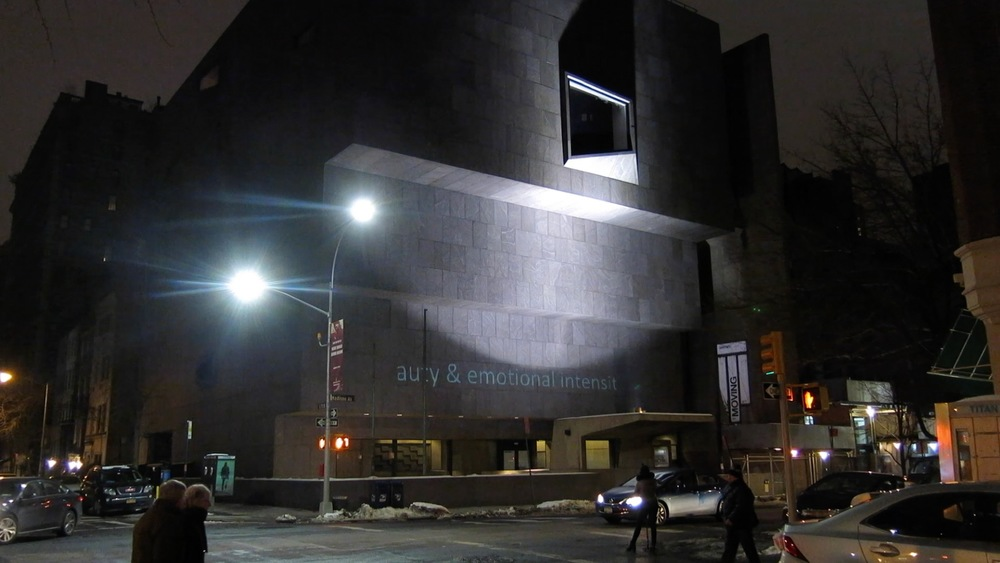 Artspeak Incinerator at the Whitney Museum