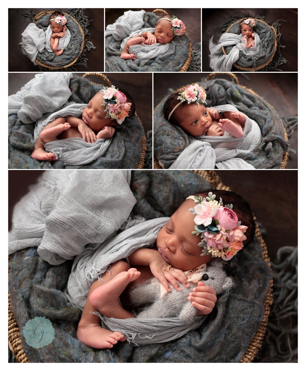 Charlotte_Newborn_Blue_Grey_Floral_headband