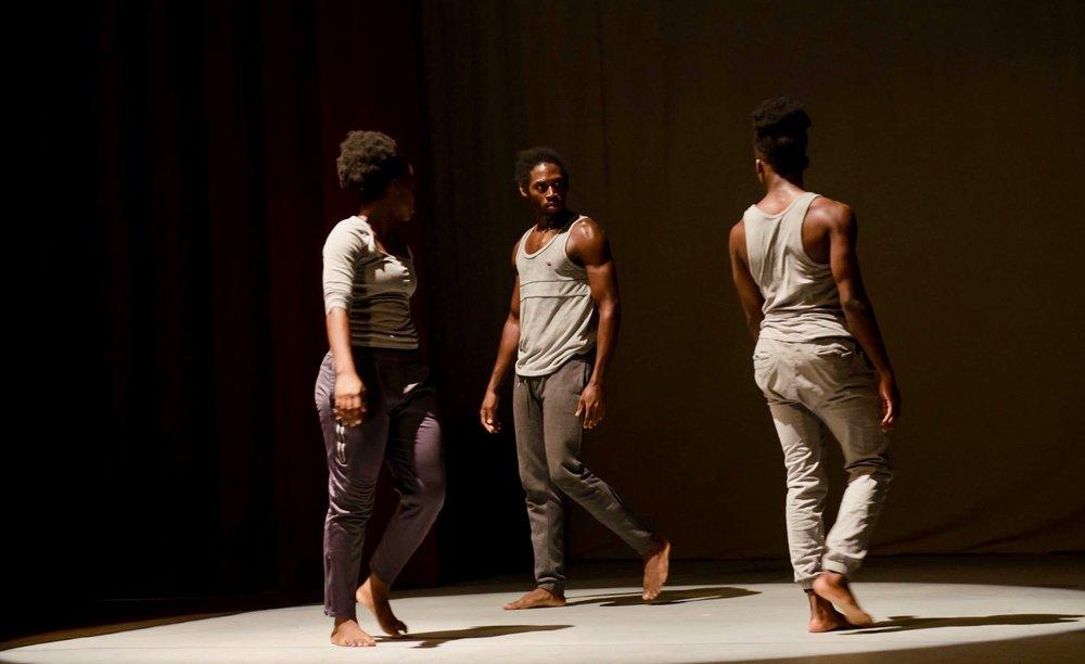 Slate (excerpt) - Choreographer: Jamal CallenderMusic: Nicholas BritellDancers: 3