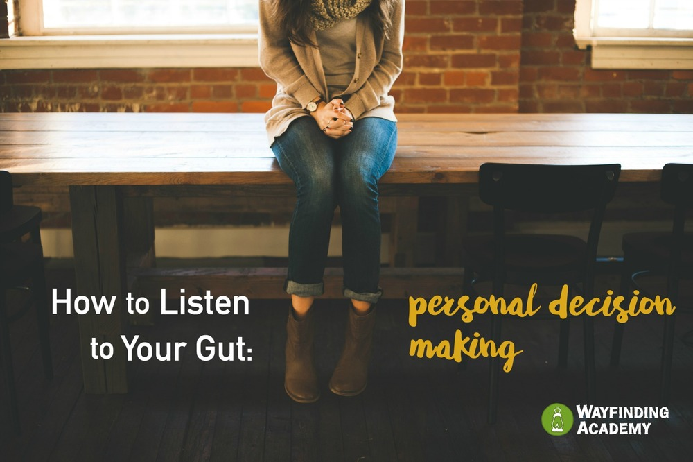 dating listen to your gut Listen to your gut instinct how much of our lives is defined by random chance.