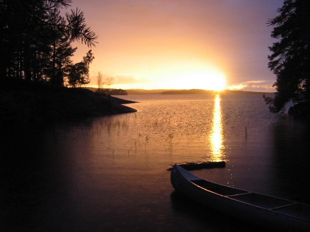 Kanotur solnedgang.JPG