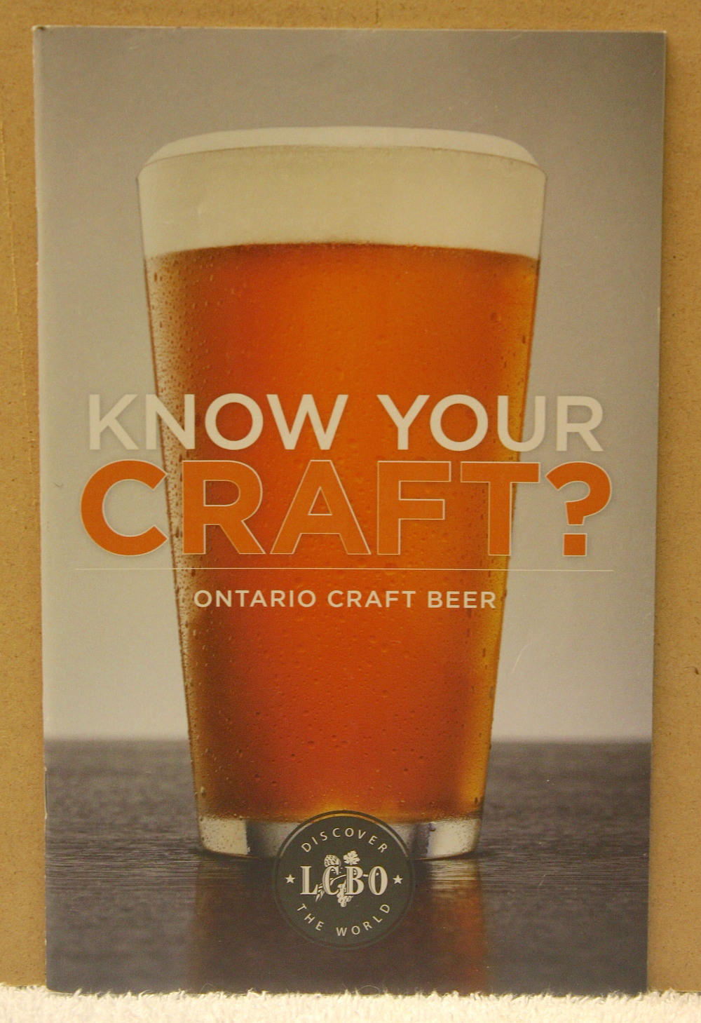 Know Your Craft_Ontario Craft Beer (2011)