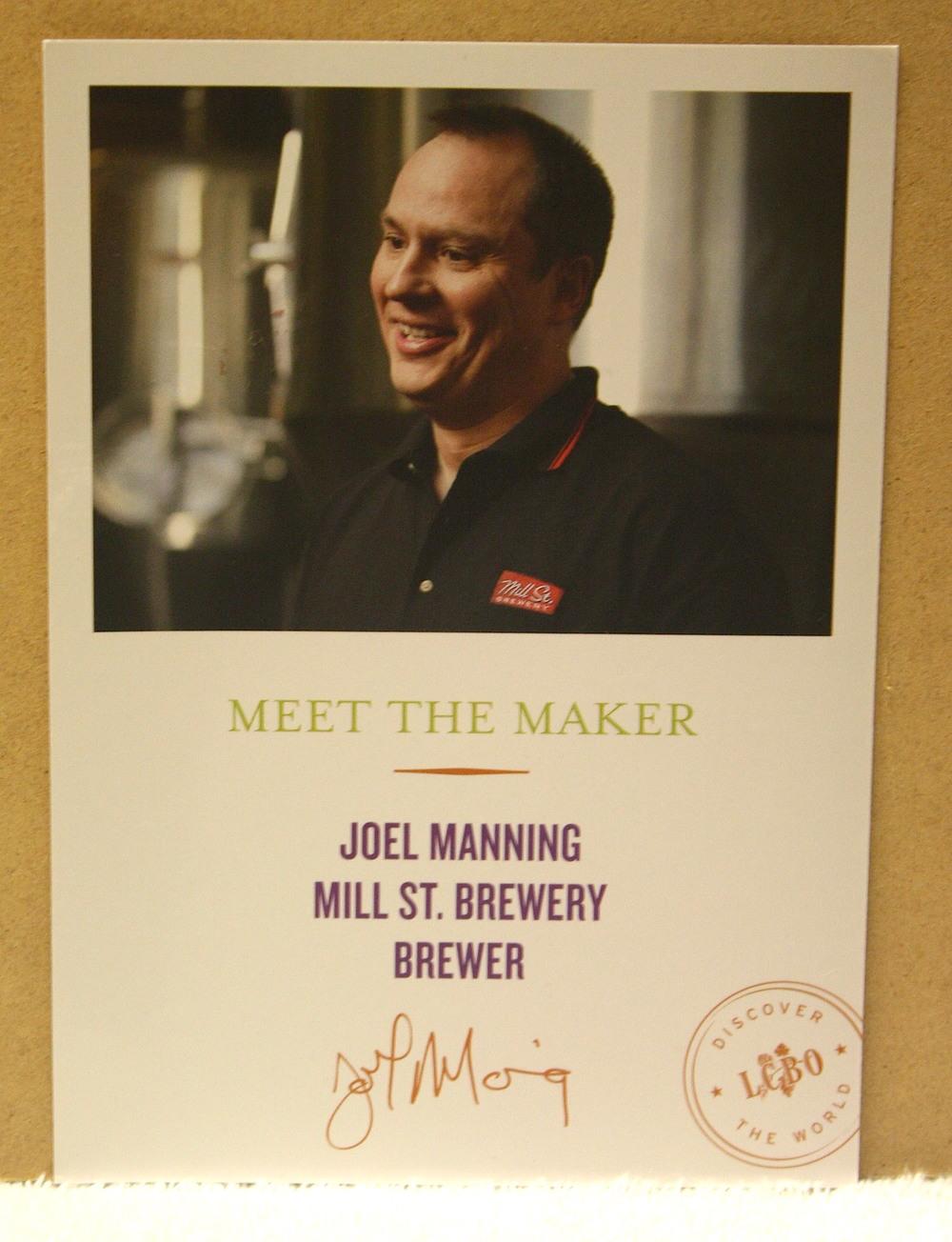 Meet the Maker postcard_Joel Manning (2009)