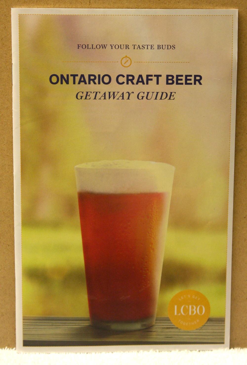 Ontario Craft Beer_Getaway Guide (2014)