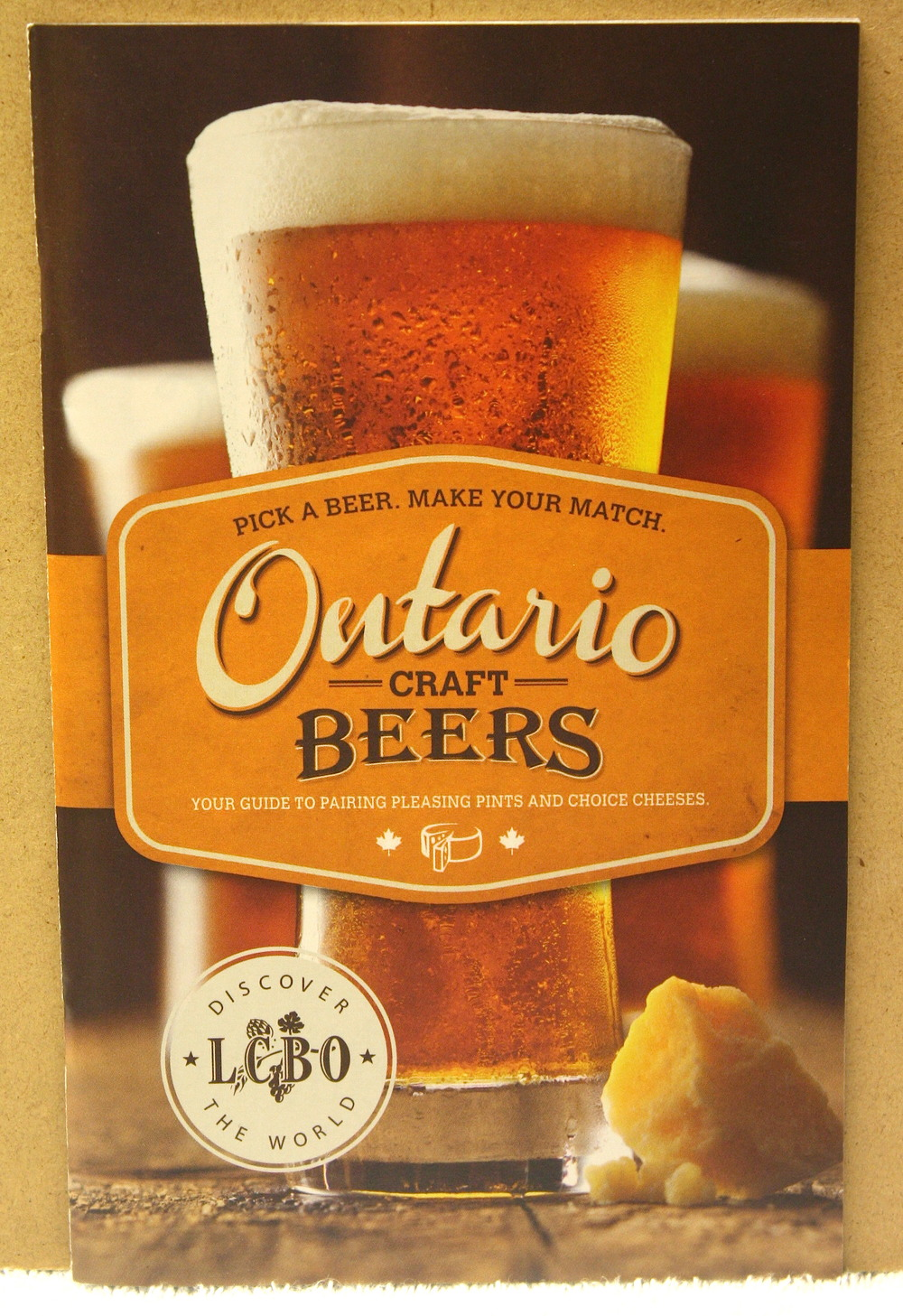 Ontario Craft Beers_Pick your Cheese (2012)