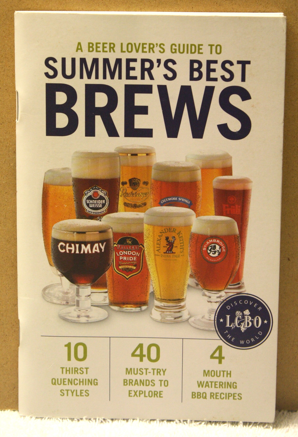 Summer's Best Brews (Summer 2009)