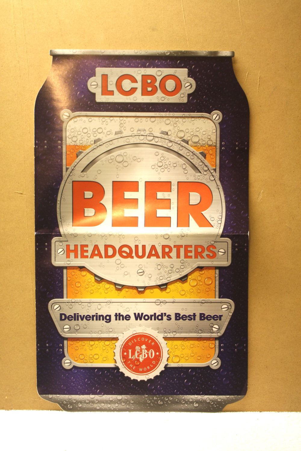 LCBO Beer Headquarters_Delivering the world's best beer (2011)