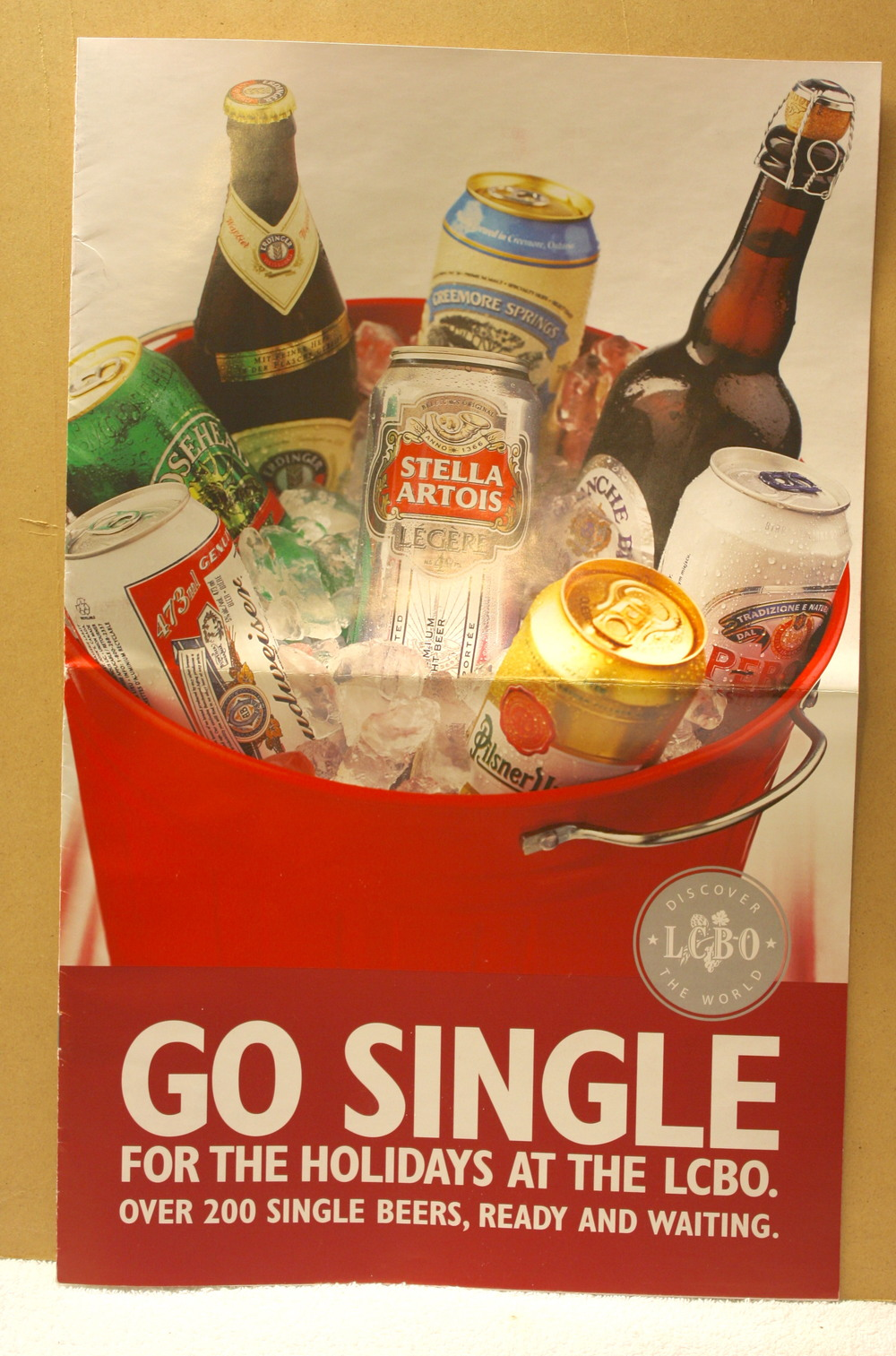 Go Single For the Holidays At The LCBO (2009)