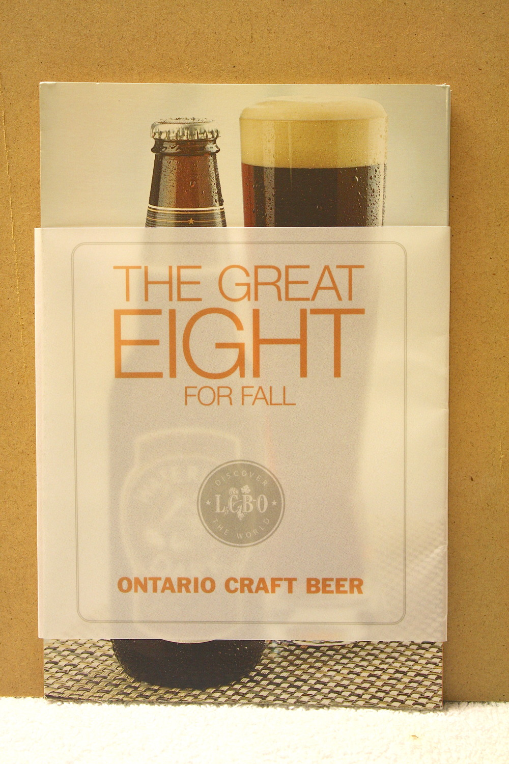 Ontario Craft Beer_Fold Out (2008)