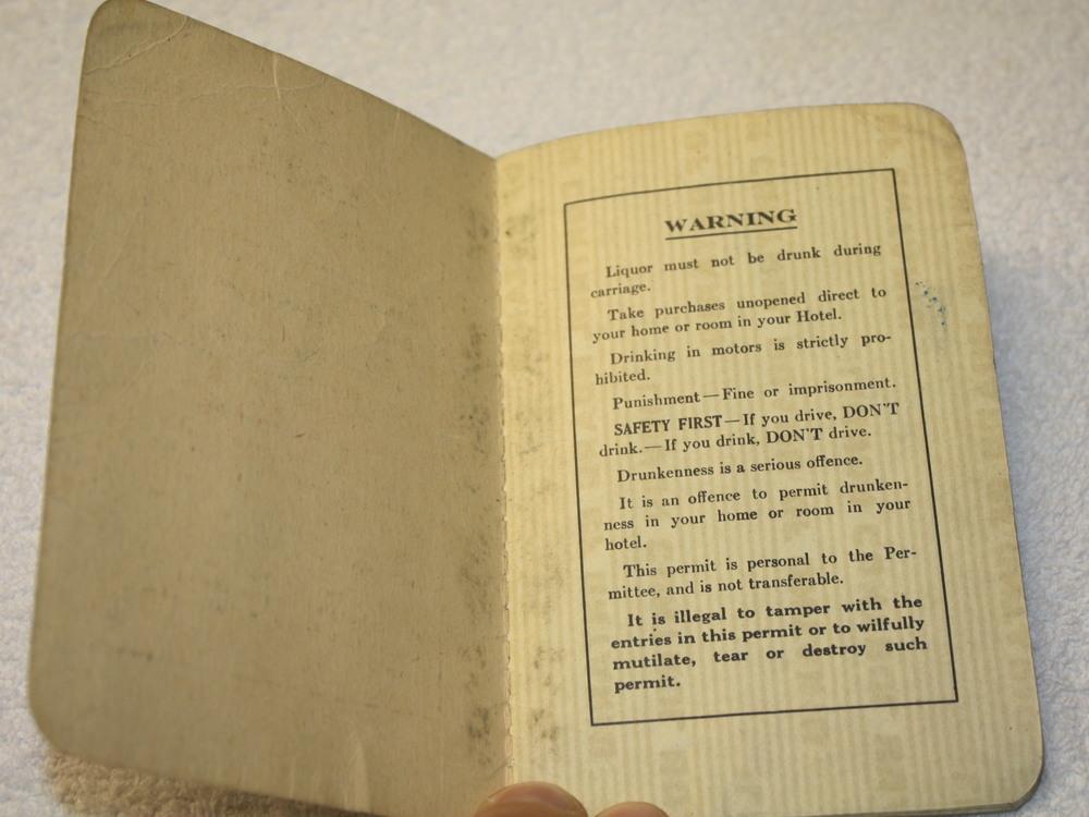 LCBO Liquor Permit Book_1955-1956_Belec_warning