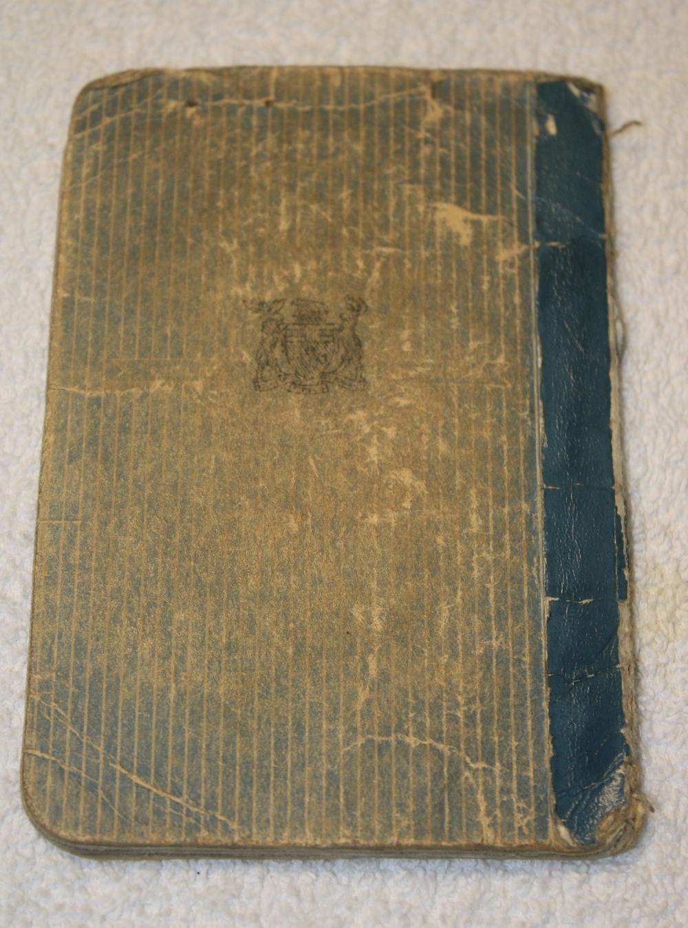 LCBO Individual Liquor Permit book_(1957-1958)_back cover