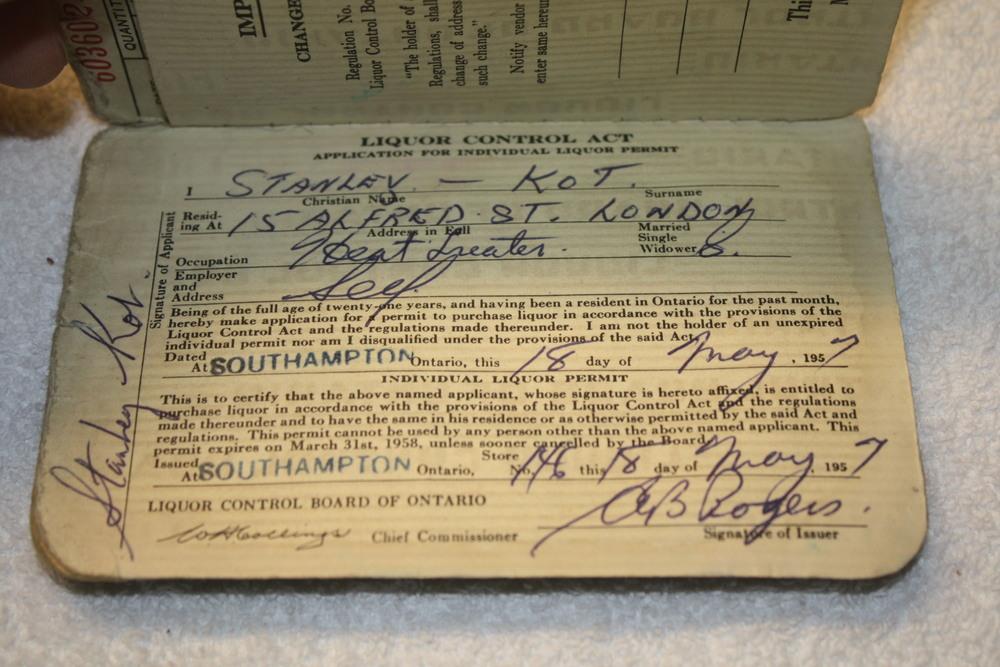 LCBO Individual Liquor Permit book_(1957-1958)_personal info