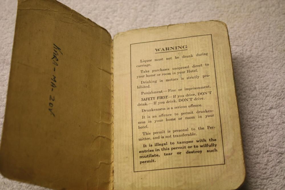 LCBO Individual Liquor Permit book_(1957-1958)_warning
