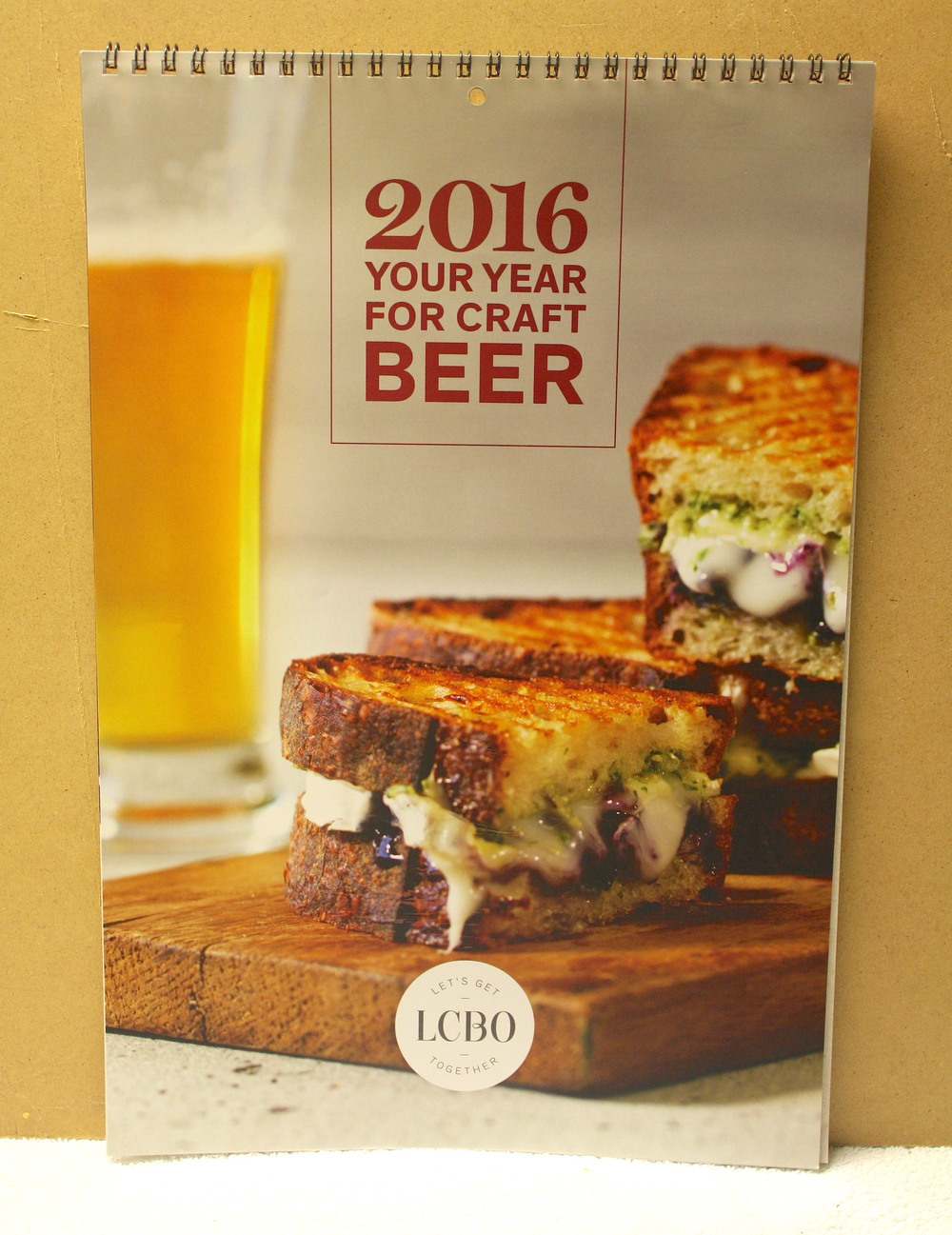2016 Your Year For Craft Beer_Calendar (2015)