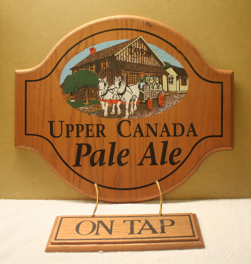 Sign - Upper Canada Brewing Co_Pale Ale on tap