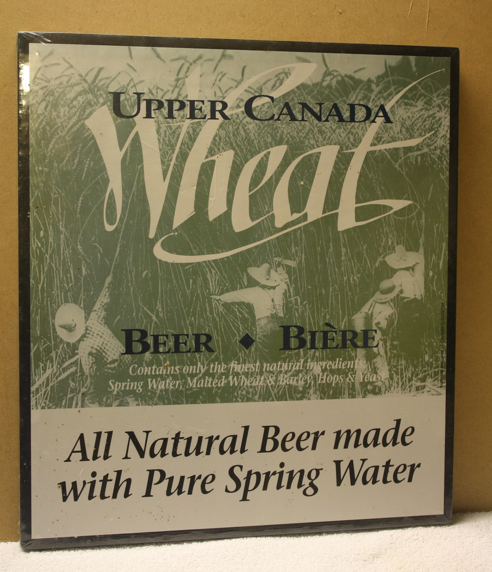 Sign - Upper Canada Brewing Co_Wheat Beer