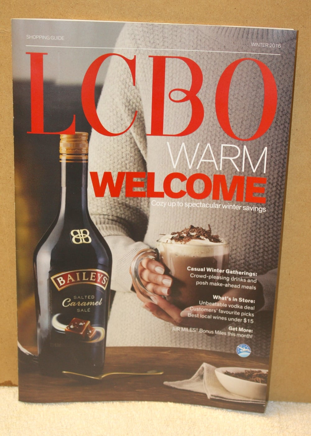 LCBO Warm Welcome Cover_Pompous Ass Shari's Pick (Winter2016)