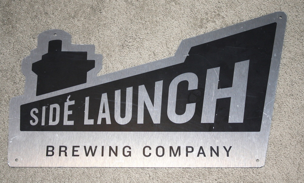 Sign - Side Launch Brewing Co (ON)