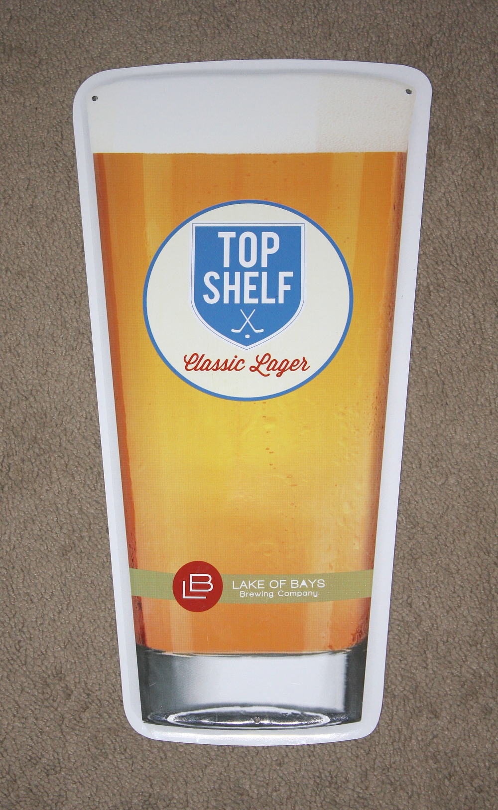 Sign - Lake Of Bays_Top Shelf Lager (ON)