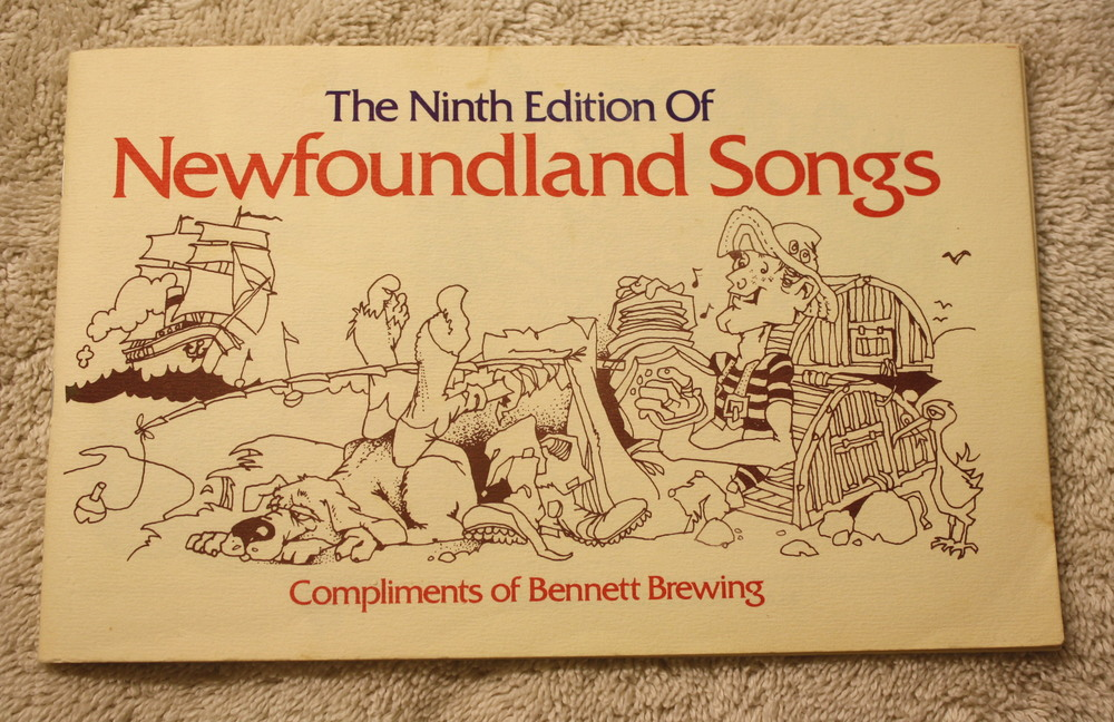 9th Edition NFLD Songbook_Bennett Brewing_Front