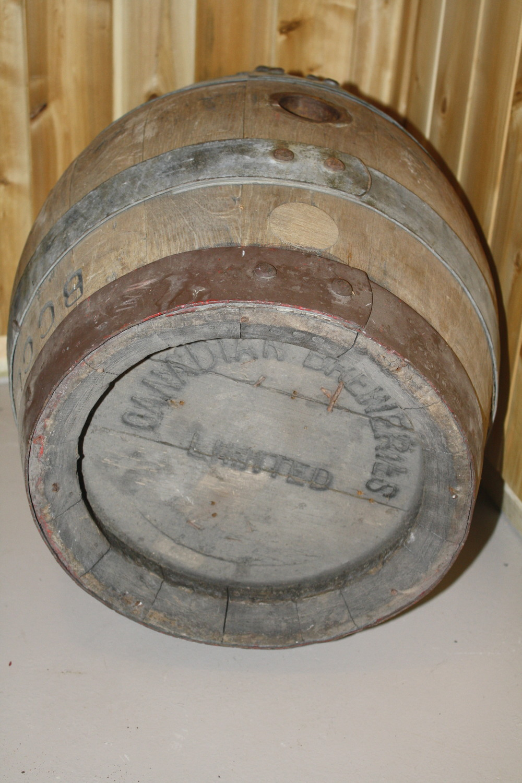 Barrel - Canadian Breweries Ltd_side